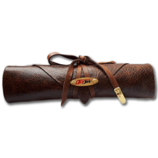 ACEJET LEATHER CASE - brown